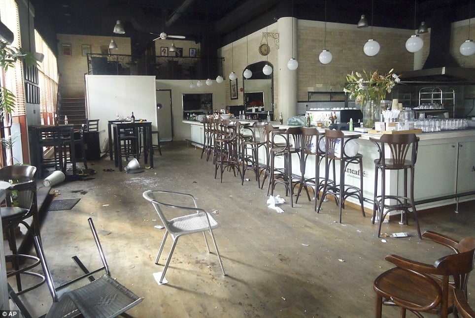 Image result for empty cafes